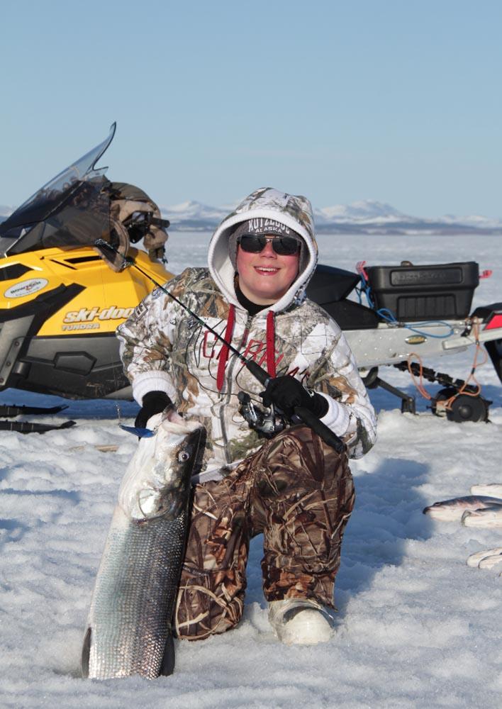 Arctic Ice Fishing Scott Haugen